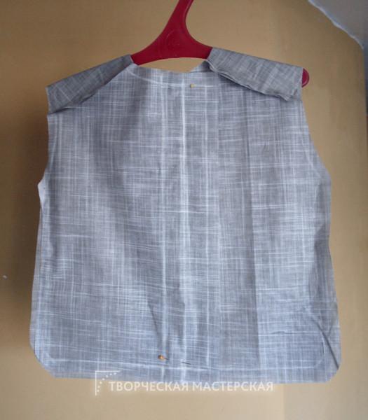 Основа детской рубашки