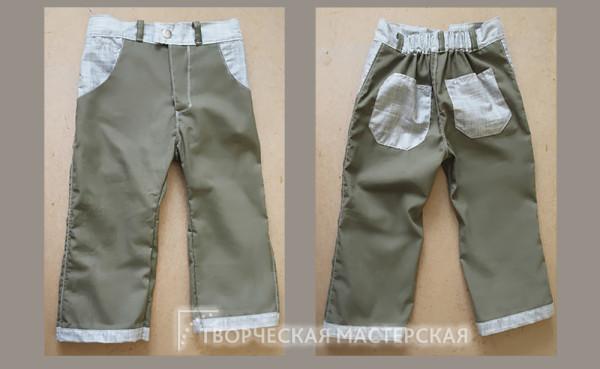 Летние легкие брюки для мальчика