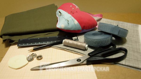 Материалы для шитья летних брюк