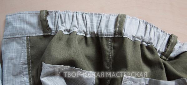 Резинка для летних брюк