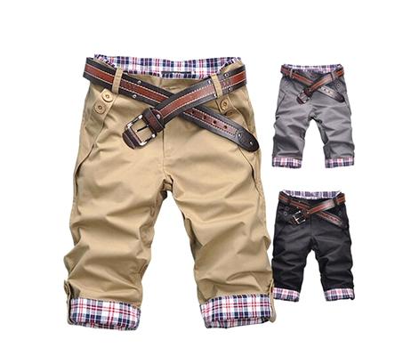 Укороченные брюки для мальчика