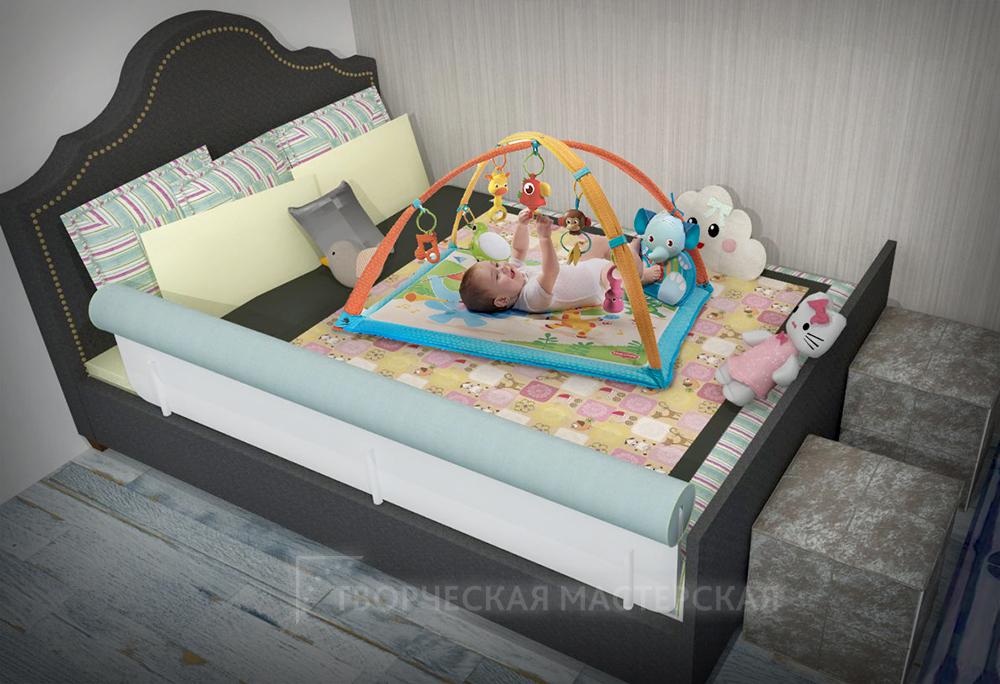 Безопасный отдых для новорожденного в детском уголке