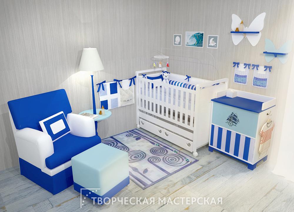 Детский уголок в отдельной комнате